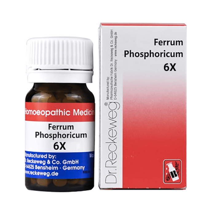 Dr. Reckeweg Ferrum Phosphoricum Biochemic Tablet 6X