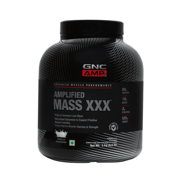 GNC Amplified Mass XXX Powder Vanilla