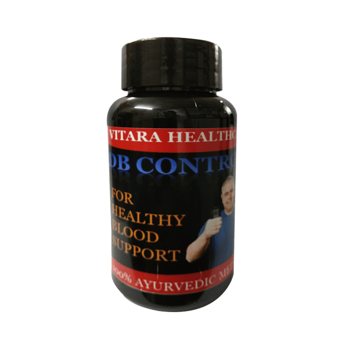 Vitara Healthcare DB Control Plus Herbal Capsule