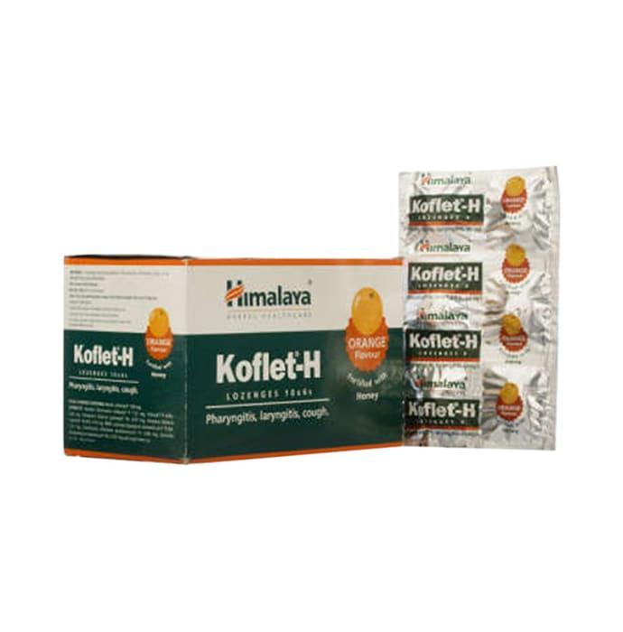 Himalaya Koflet-H Lozenges Orange