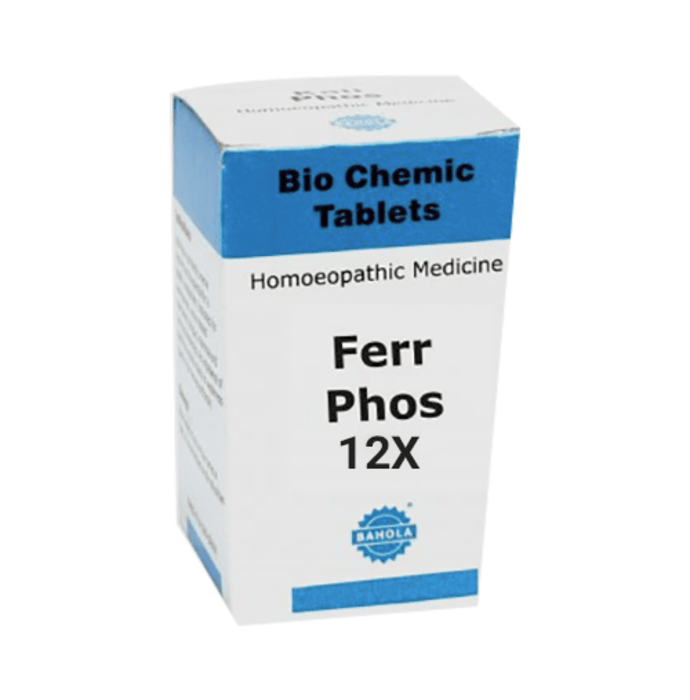 Bahola Ferr Phos Biochemic Tablet 12X