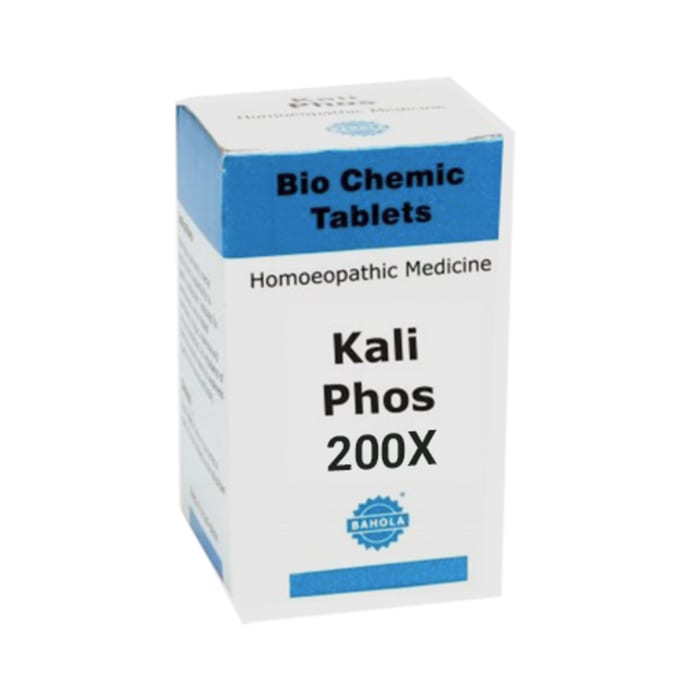 Bahola Kali Phos Biochemic Tablet 200X