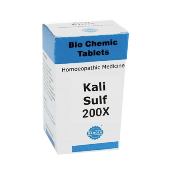 Bahola Kali Sulf Biochemic Tablet 200X