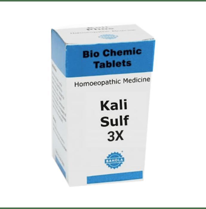 Bahola Kali Sulf Biochemic Tablet 3X
