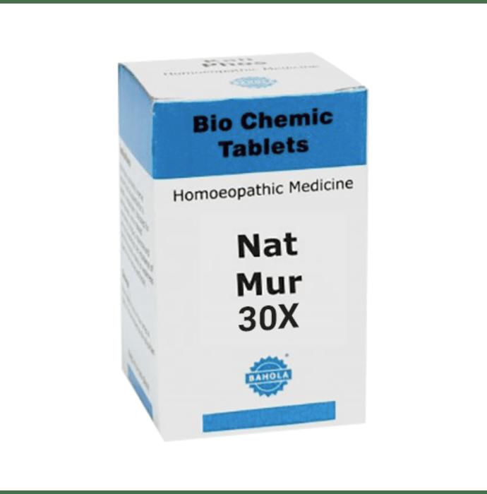 Bahola Nat Mur Biochemic Tablet 30X
