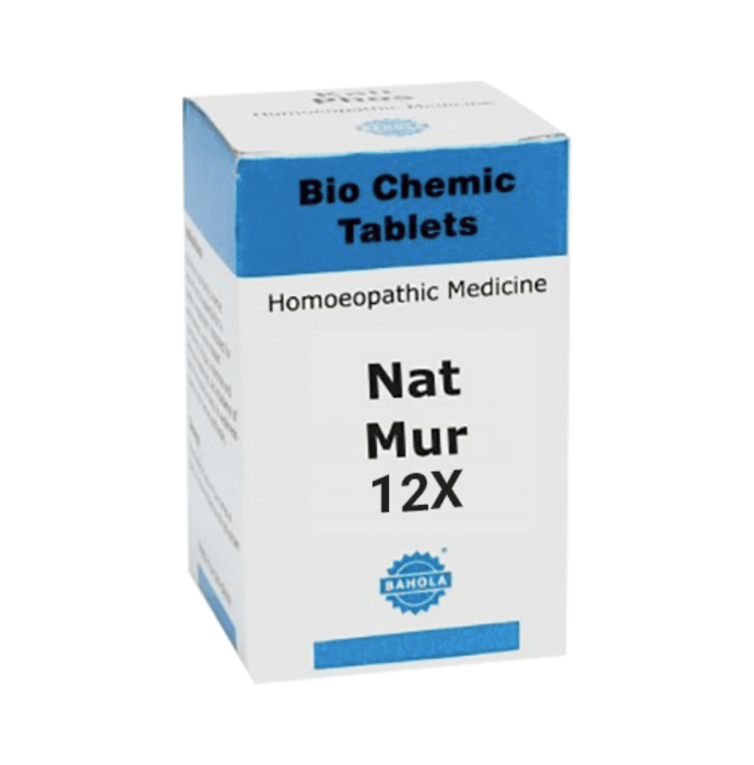 Bahola Nat Mur Biochemic Tablet 12X