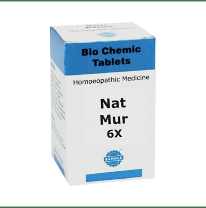 Bahola Nat Mur Biochemic Tablet 6X