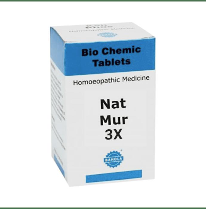 Bahola Nat Mur Biochemic Tablet 3X