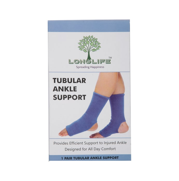 Longlife OCT 007 Ankle Support L Blue