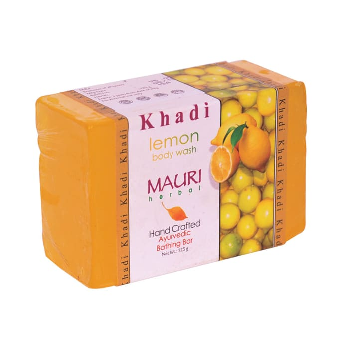 Khadi Mauri Herbal Lemon Soap