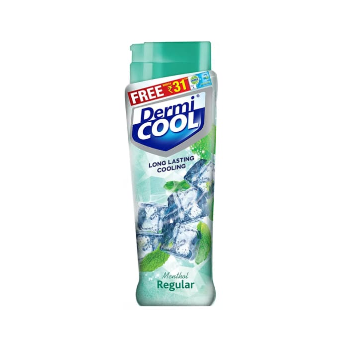 Dermicool Prickly Heat Powder 150gm (with Free Dettol Cool Soap 75gm) Menthol