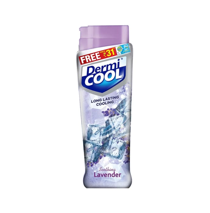 Dermicool Prickly Heat Powder 90gm (With Free Dettol Cool Soap 75gm) Lavender
