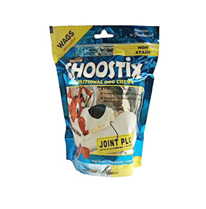 Goofy Tails Choostix Joint Plus Dog Treat with Key Chain