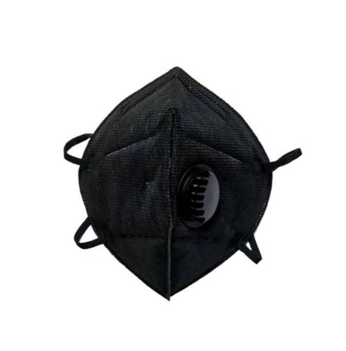 SG Health KN95 Anti-Pollution Face Mask with Activated Carbon Black