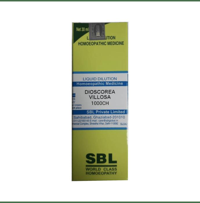 SBL Dioscorea Villosa Dilution 1000 CH