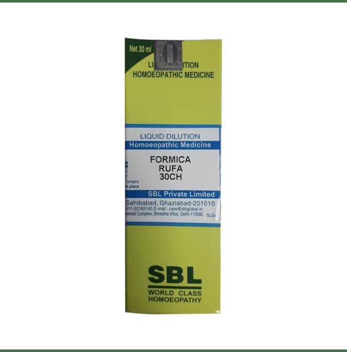 SBL Formica Rufa Dilution 30 CH