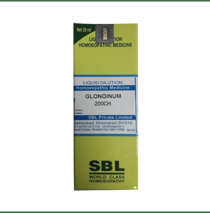 SBL Glonoinum Dilution 200 CH
