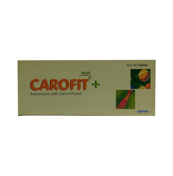 Carofit Plus Tablet