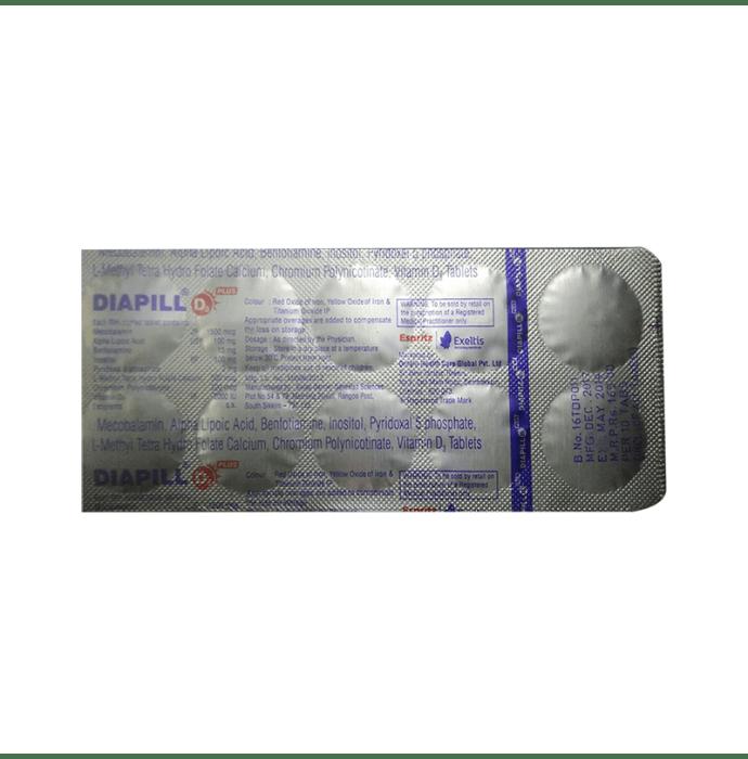 Diapill  D3 Plus Tablet