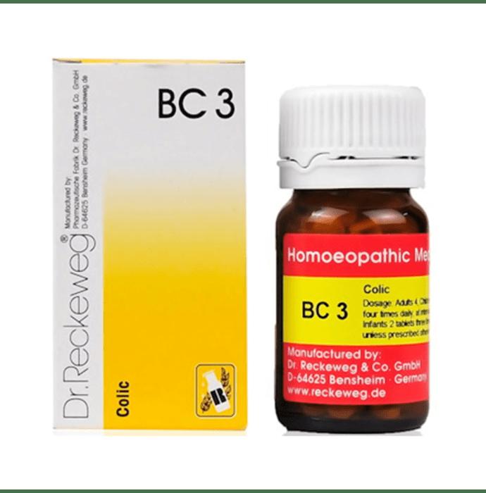 Dr. Reckeweg Bio-Combination 3 (BC 3)Tablet