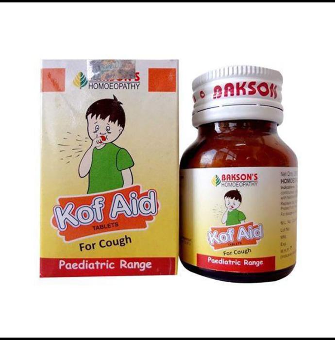 Bakson's Kof Aid Paediatric Tablet