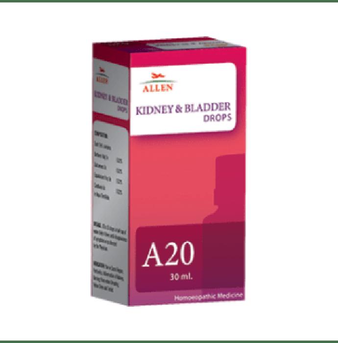 Allen A20 Kidney And Bladder Drop