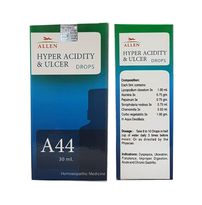 Allen A44 Hyper Acidity & Ulcer Drop