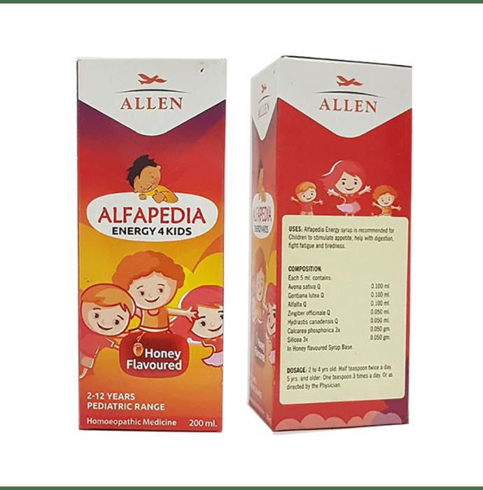Allen Alfapedia Energy 4 Kids Syrup