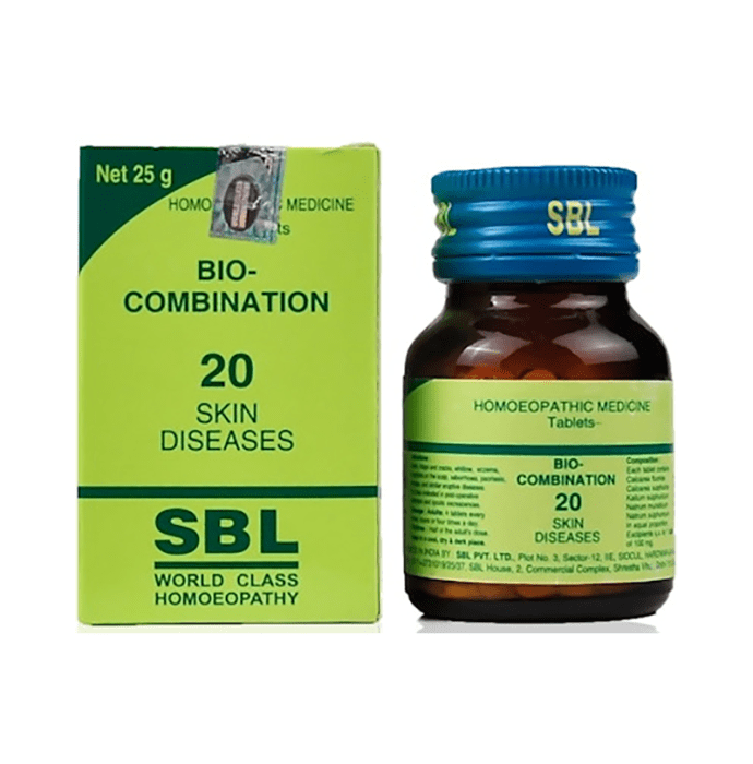 SBL Bio-Combination 20 Tablet