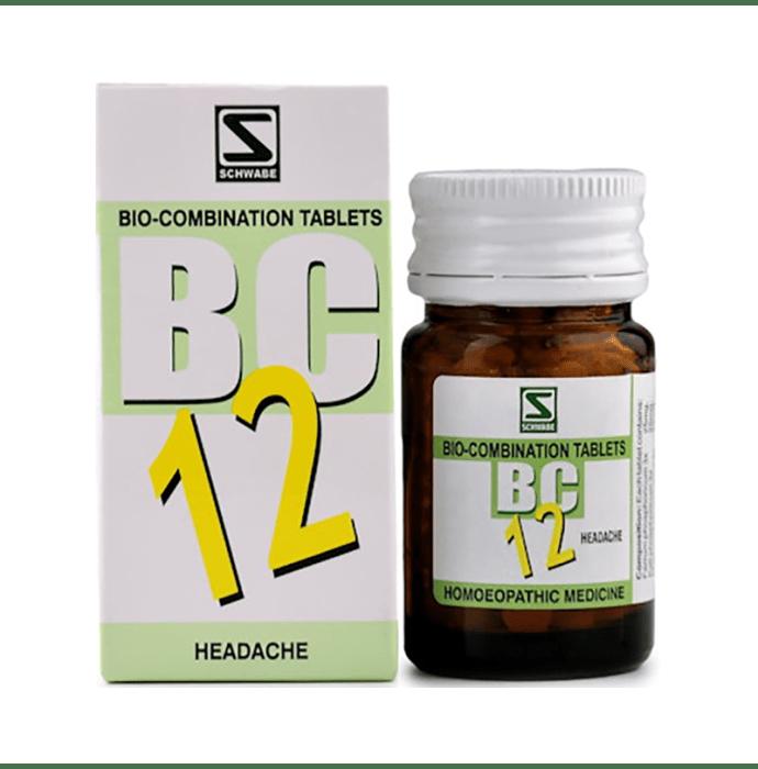Dr Willmar Schwabe India Bio-Combination 12 (BC 12) Tablet