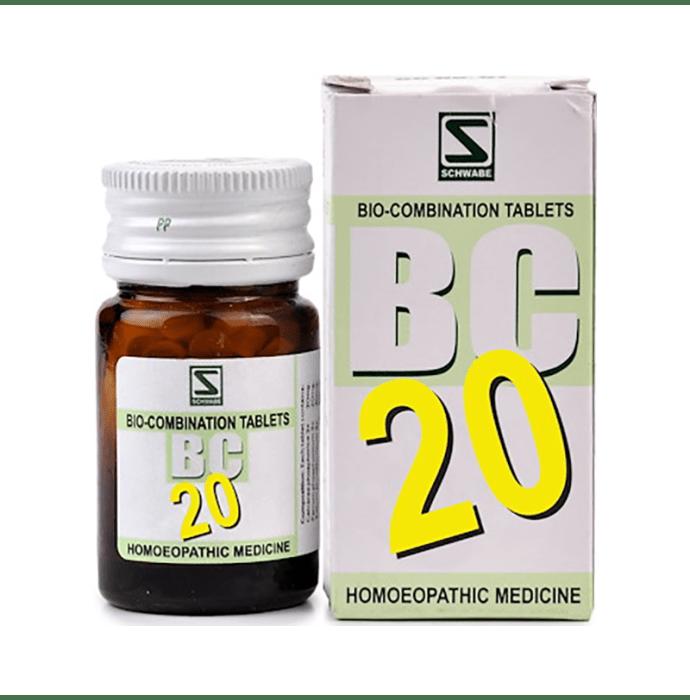 Dr Willmar Schwabe India Bio-Combination  20 (BC 20) Tablet