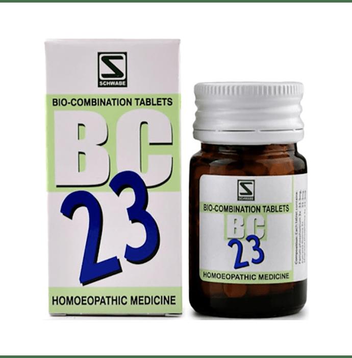 Dr Willmar Schwabe India Bio-Combination 23 (BC 23) Tablet