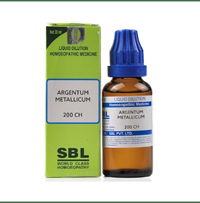 SBL Argentum Metallicum Dilution 200 CH