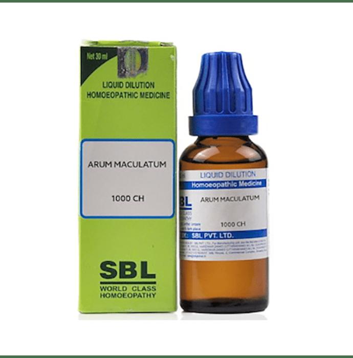 SBL Arum Maculatum Dilution 1000 CH