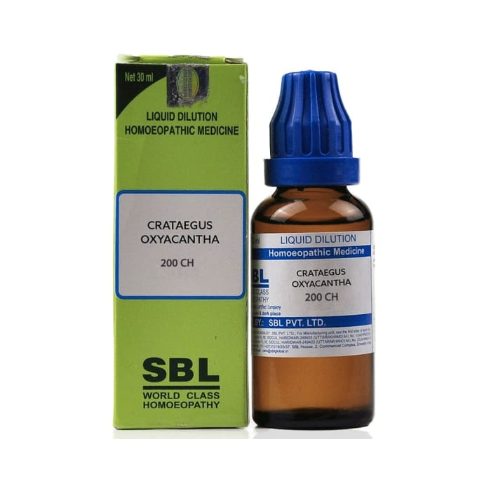 SBL Crataegus Oxyacantha Dilution 200 CH