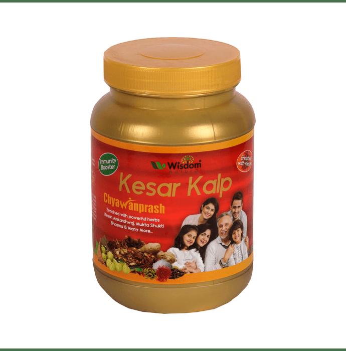 Wisdom Natural Kesar Kalp Chyawanprash