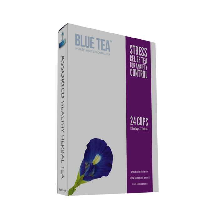 Blue Tea Stress Relief