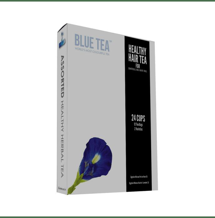 Blue Tea Healthy Hair