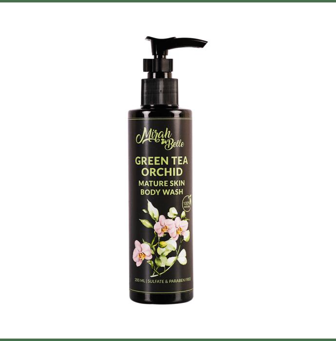 Mirah Belle Body Wash Green Tea Orchid