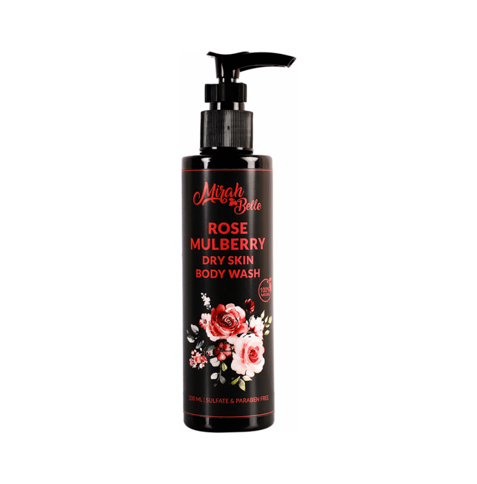 Mirah Belle Body Wash Rose Mulberry