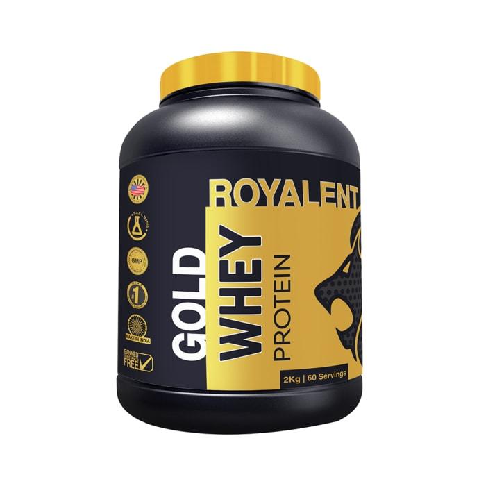 Royalent Gold  Whey Protein Banana