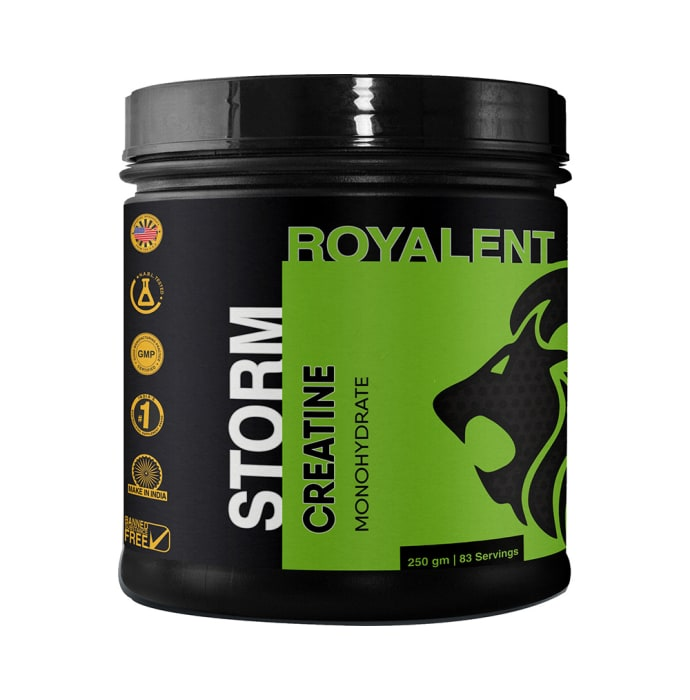 Royalent Storm Creatine Monohydrate Powder Unflavoured