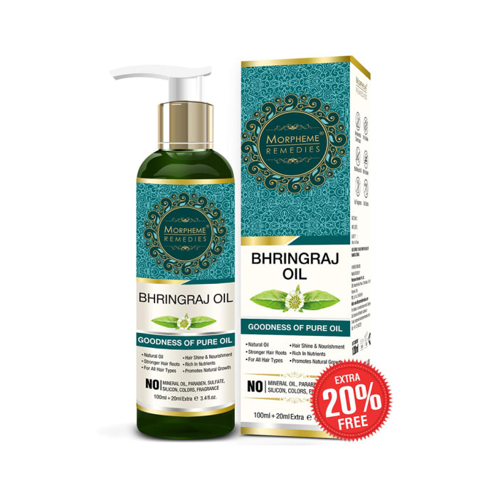 Morpheme Pure Bhringraj Hair Oil