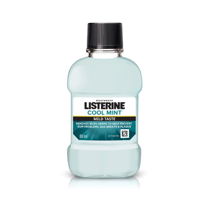 Listerine Mouth Wash Cool Mint Mild Taste