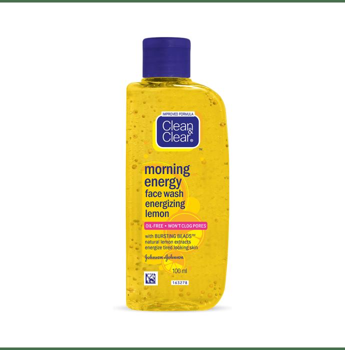 Clean & Clear Morning Energy Face Wash Energizing Lemon