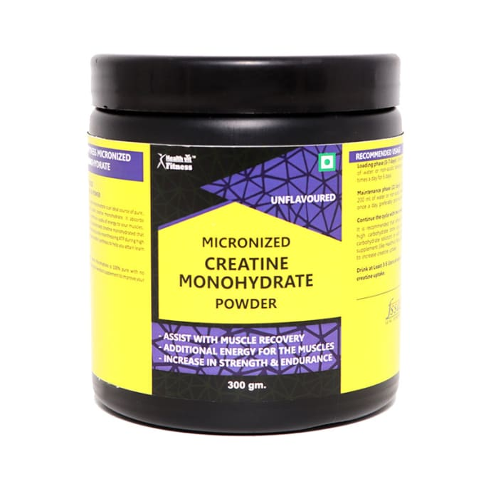 HealthVit Micronized Creatine Monohydrate Powder