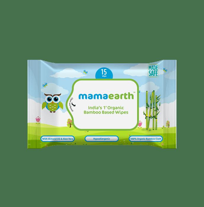 Mamaearth Organic Bamboo Based Wipes