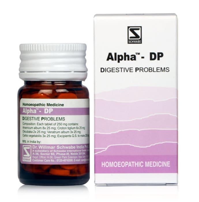 Dr Willmar Schwabe India Alpha - DP Tablet