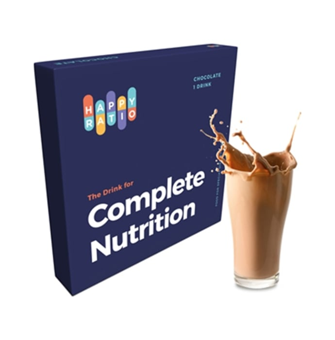 Happy Ratio The Drink for Complete Nutrition Chocolate