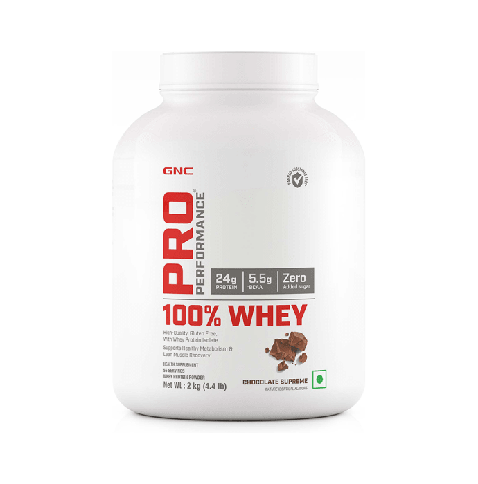GNC Pro Performance 100% Whey Protein Powder Chocolate Supreme